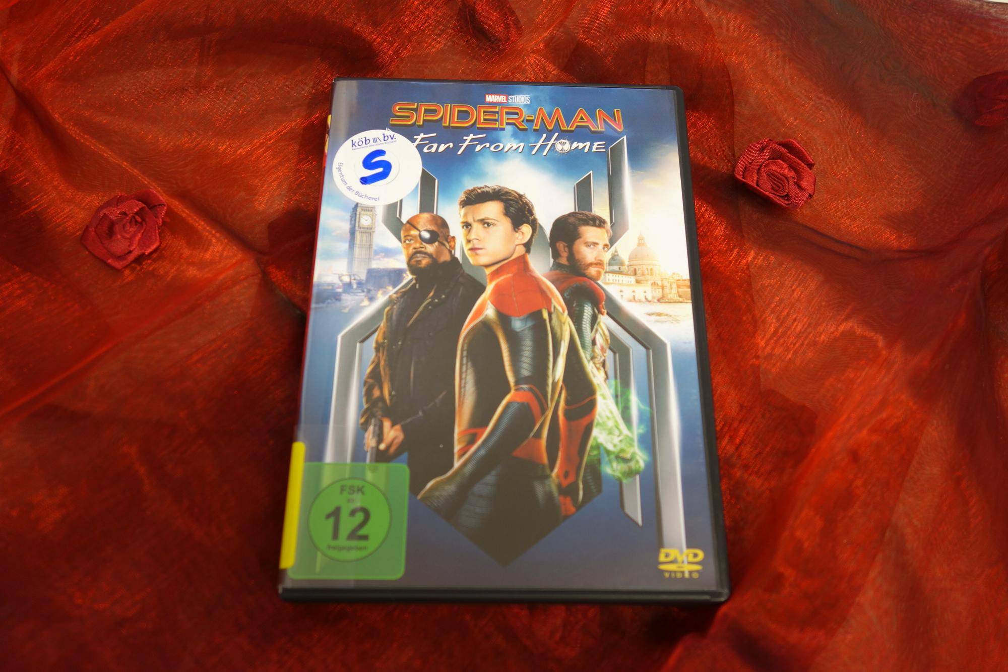 DvD-Spiderman (c) Jutta Liegener